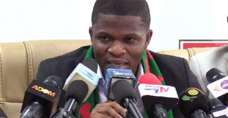 NDC National Communications Officer Sammy Gyamfi