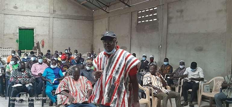 Dr. Robert Baba Kuganab-lem, MP Binduri