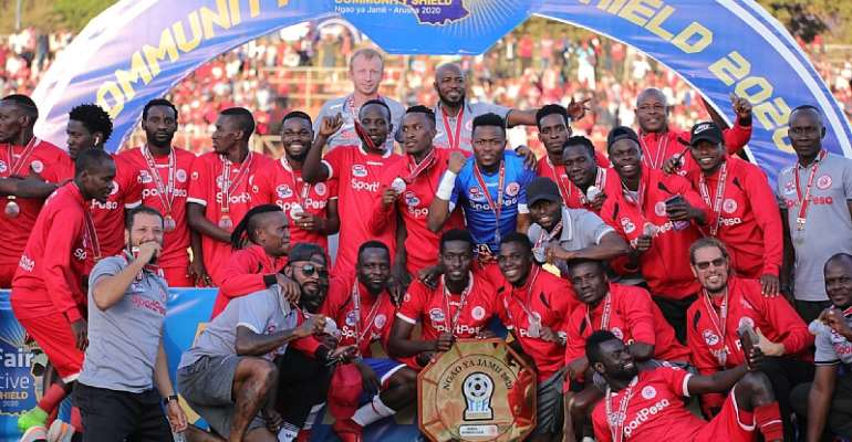 Attacker Bernard Morrison Inspires Simba SC To Community Shield Triumph In Tanzania