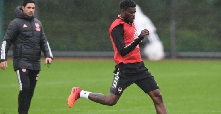 Thomas Partey to resume Arsenal training this week