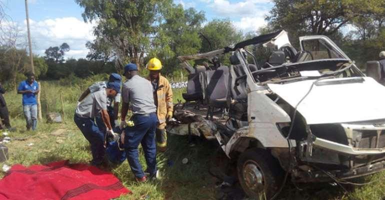 Road accident in Ghana, photo credit: Ghana media