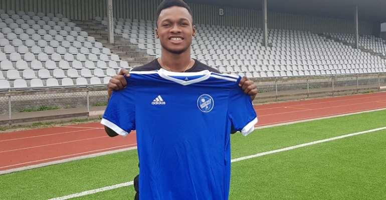Emmanuel Toku Joins Danish Club Fremad Amagar FC