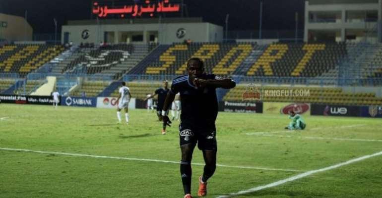 John Antwi's Brace Sends Pyramids To Egypt Cup Semi-Finals