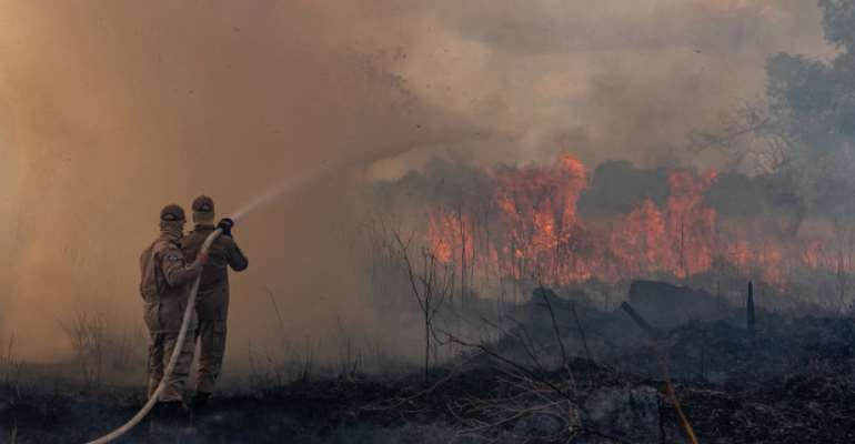 Fire In Brazil, The World In Trouble