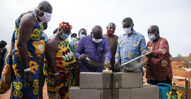 Akufo-Addo Cuts Sod For First Modern Foundry And Machine Tooling Centre