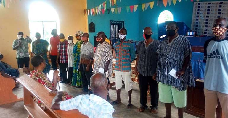 Biakoye Holds Social Auditing At Bowiri Amanfrom