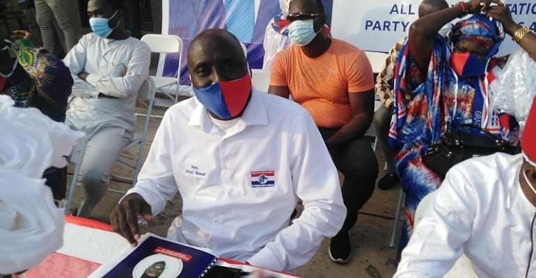 Alhaji Manaf Osumanu, the NPP Ayawaso North Parliamentary Candidate