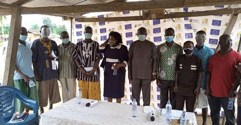 Atiwa East NCCE Holds Social Auditing At Ahankrasu