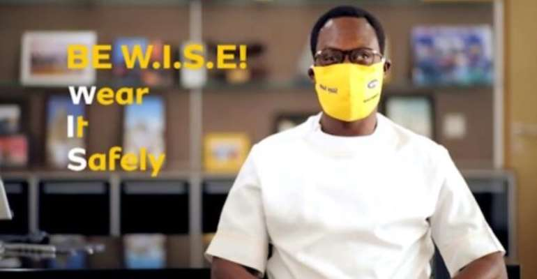 MTN Steps Up COVID Fight With New Campaign Promoting The Wearing Of Face Masks