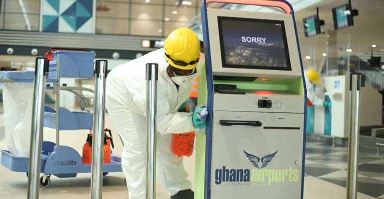 As Airports Resume Full Operations: Aviation Ministry Partners Zoomlion To Disinfect Kotoka