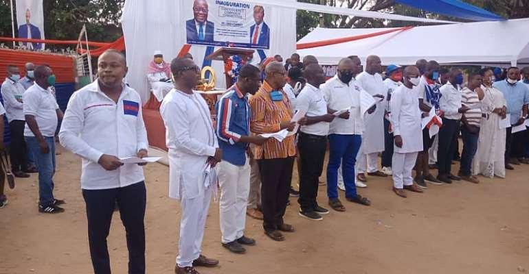 Ablekuma South NPP Inaugurates Campaign Team For 2020 Elections