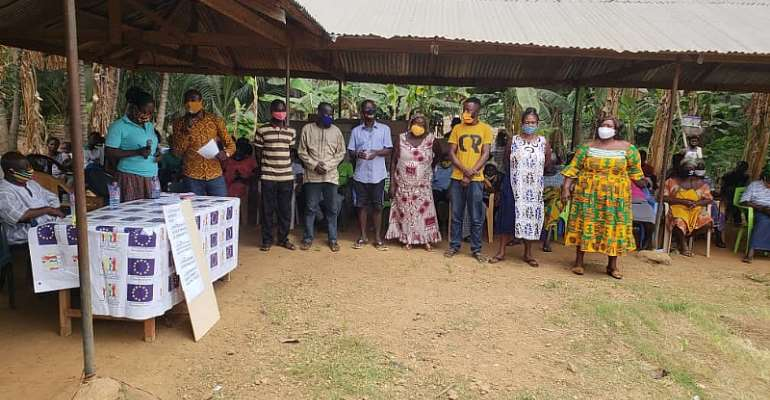 Kyebi Municipal: NCCE Organises Social Auditing At Potroase