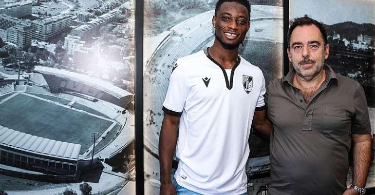OFFICIAL: Ghana Defender Gideon Mensah Joins Vitória Guimarães