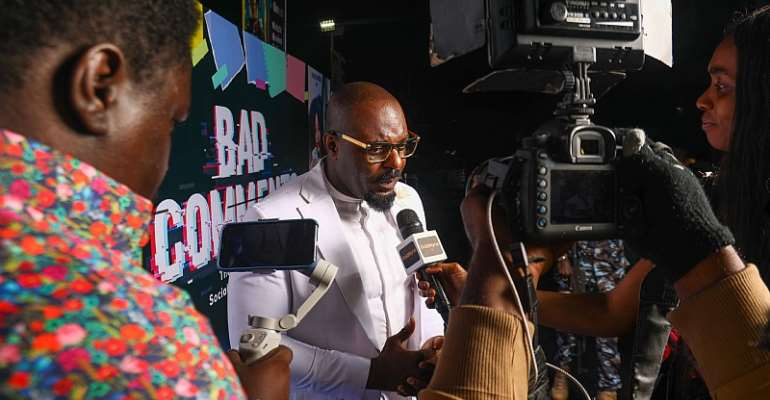 Jim Iyke advocates against Online Bullying; His latest film Bad Comments premieres in Lagos