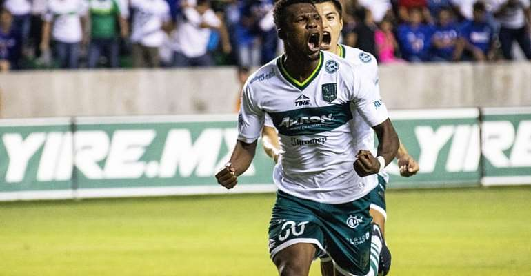 Jacob Akrong Scores For Club Atlético Zacatepec In Defeat Against Cruz Azul In Mexico Copa MX