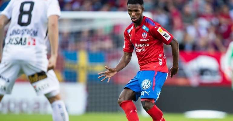 Mohammed Abubakari Scores For Helsingborg IF In Victory Over Norrby