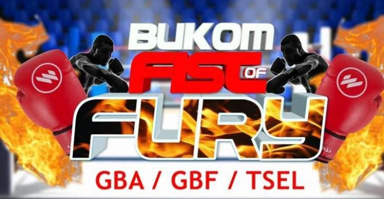 All Set For First Finals of Bukom Fist of Fury Boxing League And Professional Fight Night