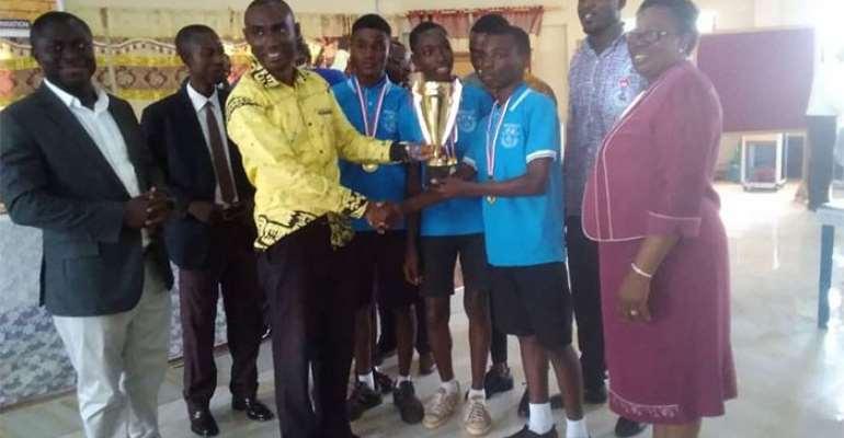 Amantia JHS Wins Asante-Akyim Quiz Competition