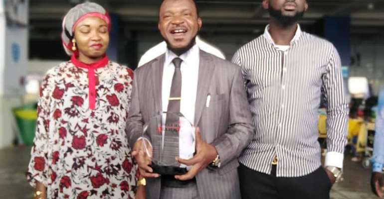 Sheikh Dr. Amin Bonsu Wins Business Leader For Health Medicine Sector In China