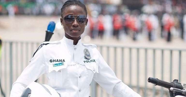 My Dream Was To Become A Nurse, Not Police Officer – Akua Gaddafi