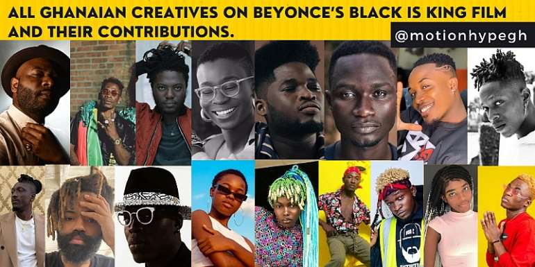 List Of All Ghanaian Creatives On Beyonce's Black Is King And Their Contributions
