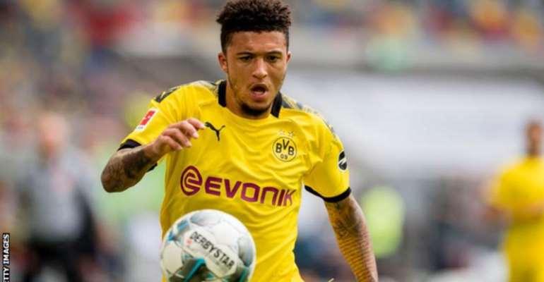 Jadon Sancho scored 17 goals in 32 Bundesliga appearances last season as Borussia Dortmund finished second