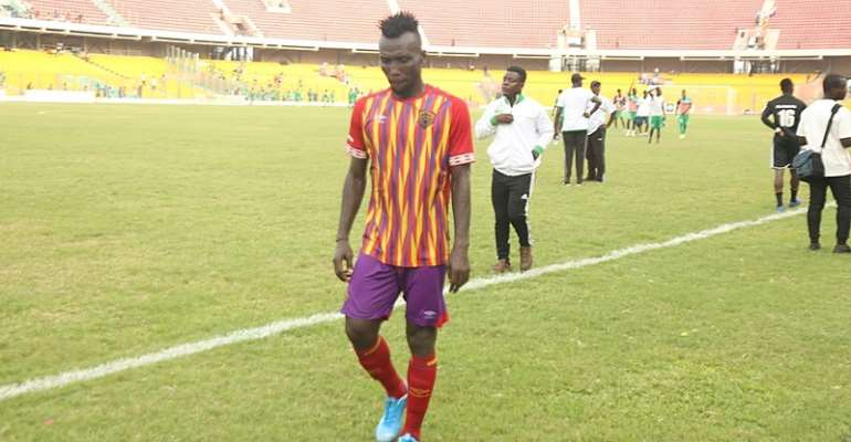 The Fans Are Eager To See Us Play Again, Says Hearts of Oak's Emmanuel Nettey