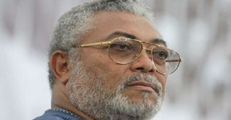 I Will Soon Deal With The Callous Agenda Of Bile From The Likes Of Kwamena Ahwoi — Rawlings Threatens