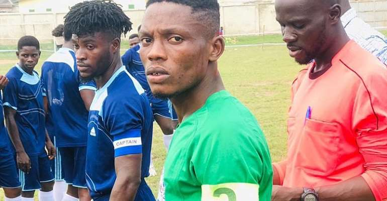 Karela United, Goldsters, Sky FC and others are said to be interested in Justice Blay's Cousin