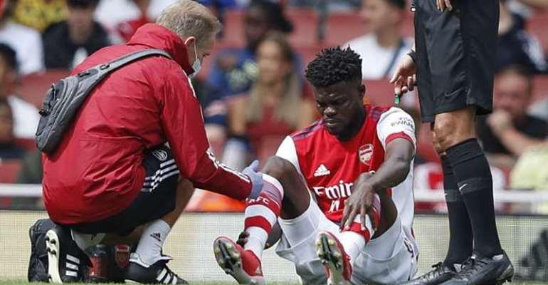 Thomas Partey to miss Arsenal's season opener against Brentford