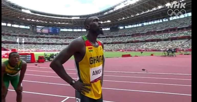 2020 Tokyo Olympic: Sprinter Joseph Paul Amoah fails to make 200m final after finishing 4th in semi