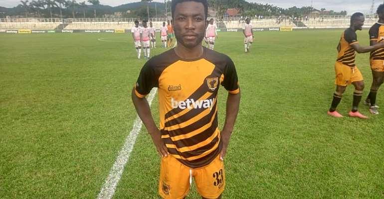Ashanti Gold SC attacker Seth Osei