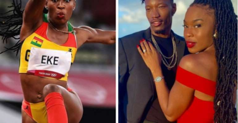 Nadia Eke: Ghana's triple jumper and Olympic flagbearer hints at marriage after retirement