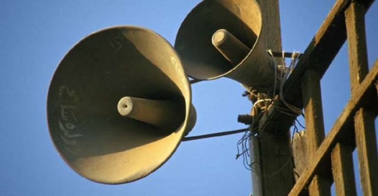 Noise Makers Do Not Have the Right to Damage the Health of the Citizenry