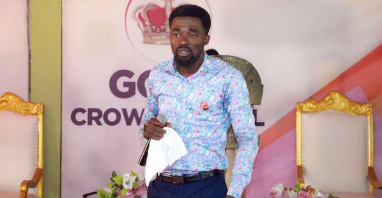 The General Overseer and Founder of God's Crown Chapel, the Eagles Cathedral, Rev. Reindolph Oduro Gyebi