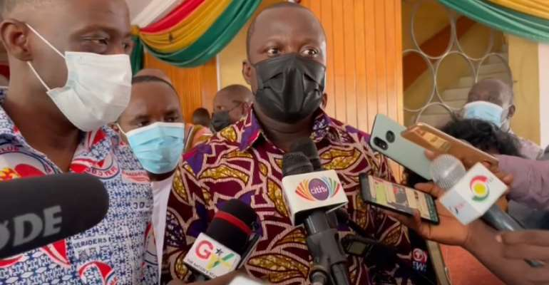 Over Ghc12m was used to purchase seedlings for Green Ghana project — Abu Jinapor