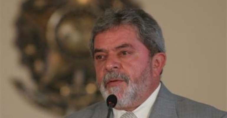 Visiting Brazilian President honoured