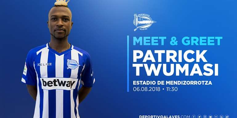 Ghana Striker Patrick Twumasi To Be Unveiled By Alaves On Monday