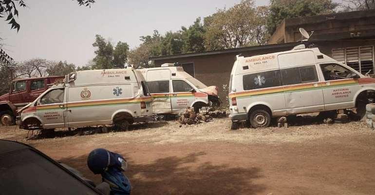 All nine gov't ambulances in Upper West Region grounded – Minister