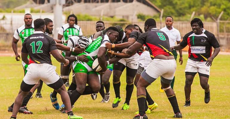 Black Stallions Lift Inaugural Ghana-Nigeria Rugby Presidents' Cup