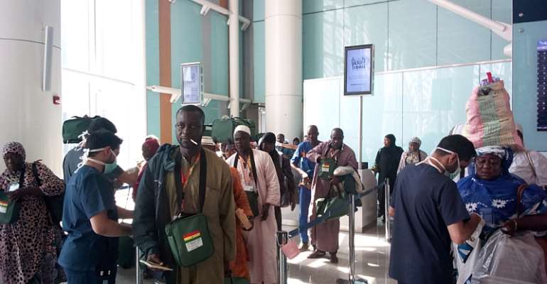 Second, Third Batch Of Accra Pilgrims Laud Hajj Board
