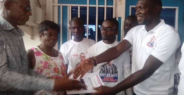 Former NDC MP Files To Contest For NPP In Wassa Amenfi West Constituency