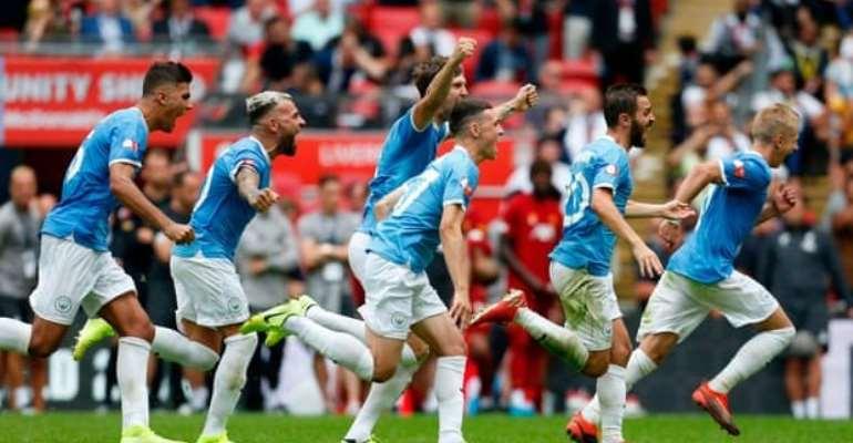 Man City Edge Liverpool On Penalties In Entertaining Community Shield