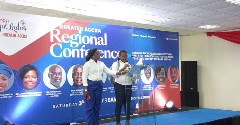 NPP Loyal Ladies Cautions Party Against Neglecting Grassroots