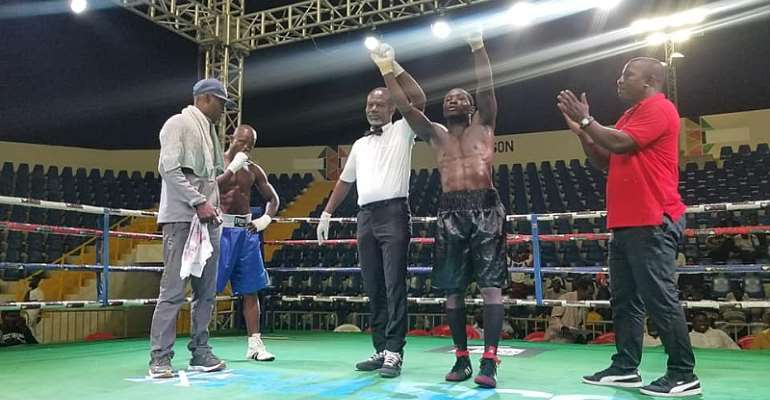 First Finals Of The Bukom Fist Of Fury Boxing League And Professional Championship Held Successfully