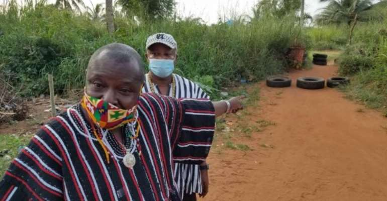 Re-demarcate Aflao Lands - Togbui Fiti Over Encroachment Of Borderline in Ghana By Togo