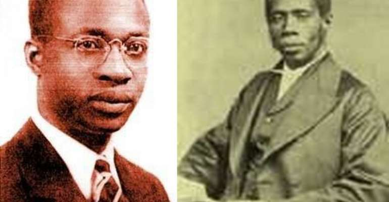 Kwame F. Nkrumah(1909-1970) and Edward Wilmot Blyden (1832-1912)