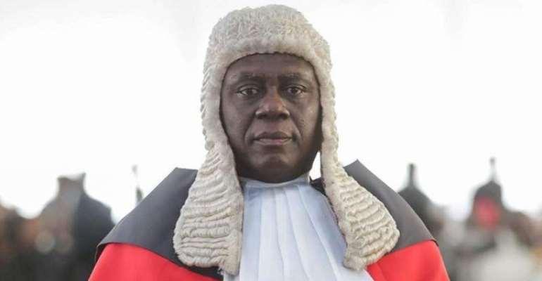 Chief Justice (CJ), Kwasi Anin-Yeboah