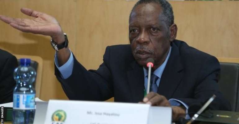 Cameroon's Issa Hayatou is the longest-serving ruler in Caf history, having governed the organisation for 29 years