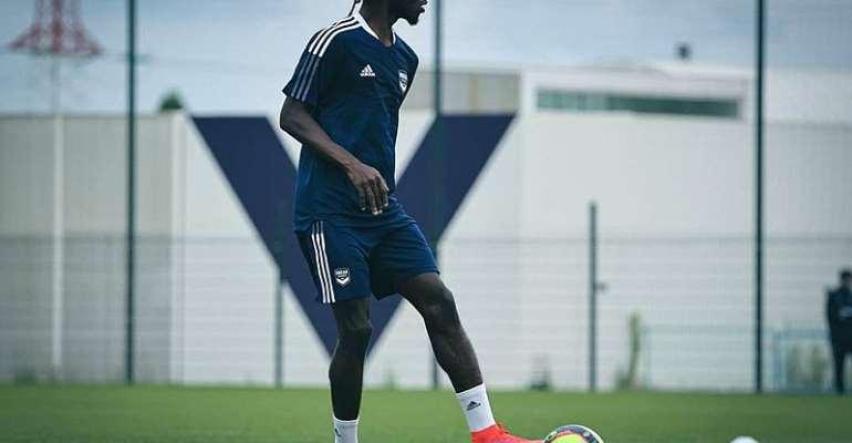 Ghana defender Gideon Mensah begins pre-season with new club FC Bordeaux